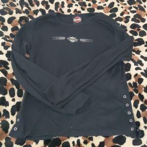 Harley Davidson long sleeved top